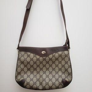 100% Authentic Vintage Gucci GG logo bag